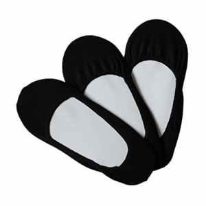 Lot de 12paires de chaussettes pour femme Ballerines – noir – 36