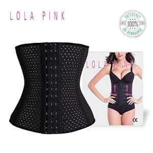 O³ Gaine Amincissante Ventre Plat Lola Pink – Invisible et Confortable- Effet Taille de guêpe (XL/42)