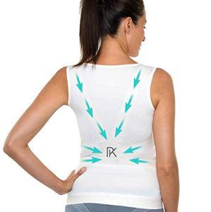 Percko – Lyne Up Correcteur de Posture – Sous Vêtement Femme – Lavable 30°- Soulage Les Douleurs Dorsales Cou Cervicales et Épaules