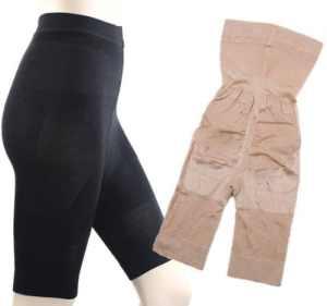 SIMPLISIM: Gaine Amincissante Effet Minceur Cuisses Ventre Plat Slim Lift Panty Bodyshaper (XXL)