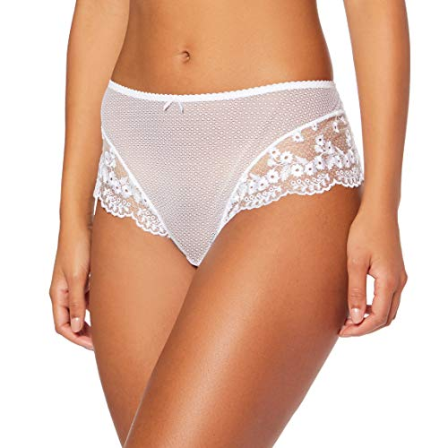Aubade Tendre CONVOITISE Shorty, (Blanc BLAN), 38 (Taille Fabricant:2) Femme