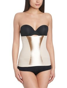 Maidenform Easy Up-Waist Nipper Ensemble de Lingerie, Beige (Latte Lift), S Femme
