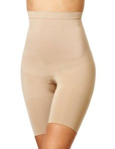 Spanx Slim Cognito Midthigh Nude Bodysuit