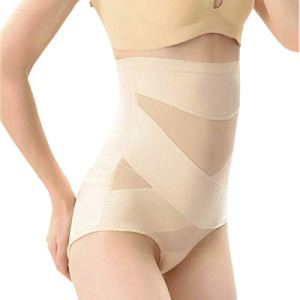 Dovlen Femme Ventre Plat Plus Mince Modelant Hip-Lift Compression Culotte Ceinture Sculptant – Couleur Chair, 3XL