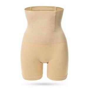 ieenay Culotte Taille Haut pour Femme Gaine Respirant pour Le Corps Qui Moulant Vêtements Intérieur Ceinture Ventre – Beige, M/L