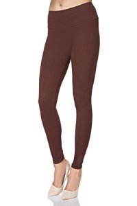 MITAAMI – Legging Taille Haute – Femme – Taille Gainante/Effet Amincissant – Grande Taille – Taille 56 – Marron
