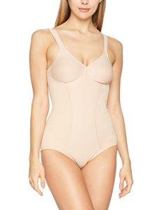 Triumph Modern Soft + Cotton Bs, Combinaison Gainante Sans armature Femme, Beige (Neutral Beige Ep), 90D (Taille fabricant: 75D)