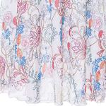 iHAZA Femme Longue Hippie Boheme Gypsy Boho Flowers Elastic Waist Floral Halter Jupe