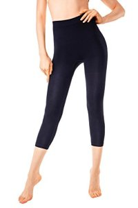 MD Legging Effet Sculptant Femme Leggings Anti-Cellulite Amincissants et resculptants Black 2XL