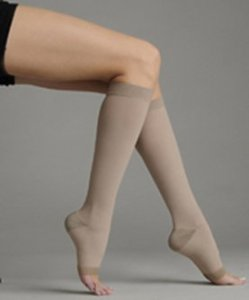 Silver Stocking 20-30 Mmhg, Model 2061 (Size 2 Knee High (ad) Close toe Short, Silver) by Juzo