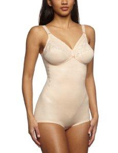 Triumph – Body Femme – Formfit BS (111201) – Beige (Haut ) – FR : Taille unique (Taille fabricant : 80 B)