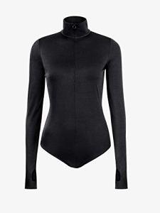 Wolford String pour Femme Effet Verre Scintillant – Noir – Taille L