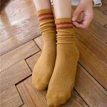 KJJYUK Chaussettes femmes 20 Pairs/set Autumn Winter New Japanese Style Women's Socks Wholesale Medias Autumn Female Socks,5