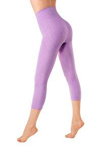 MD Legging Effet Sculptant Femme Leggings Anti-Cellulite Amincissants et resculptants Small Violet
