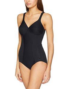 Triumph Modern Soft+Cotton BS Combinaison Gainante, Noir (Black 0004), 100C Femme