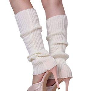 Bottes tendance pour femme en tricot au crochet Blanc