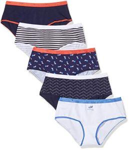 Dim Boxer Les Pockets Coton X5, Multicolore (Lot Méditérranée 8zk), 40 (Taille Fabricant:40/42) 5 Femme
