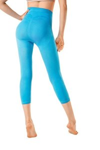 MD Legging Effet Sculptant Femme Leggings Anti-Cellulite Amincissants et resculptants Medium CoralBleu