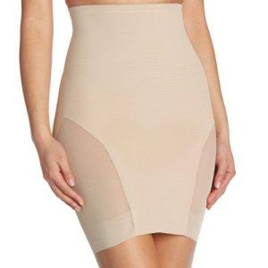 Miraclesuit Fond de Jupe Taille Ultra-Haute Gainante-Hi Waist Slip, Costume Femme, Beige, 40 Fabricant: Size 12