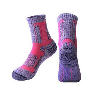 qishengshengwukeji soquette femme chaussette femme Chaussettes avec poignées femmes Thermique de chaussettes femmes Femme chaussettes Chaussettes femmes hiver pink,freesize