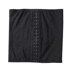 QZA, Corset pour Femme, Resserrement de l'abdomen, Trois rangées de Crochets, pour Le Sport, Le Travail, Le Yoga, La Maison, Le Corset réglable, Peut améliorer la Posture assiseS-黑色
