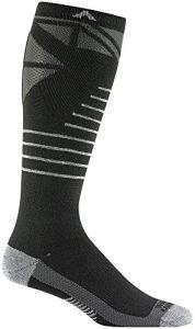 Wigwam Snow Super G F6186 Pro Socks, Black – Large