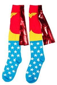 Wonder Woman Caped Chaussettes Hautes