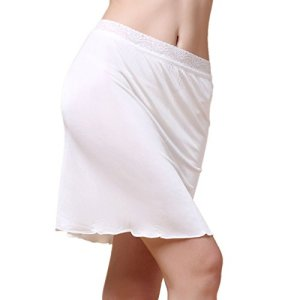 Paradise Silk – Jupon – Femme Blanc Blanc petit