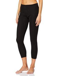 Damart Legging Cotes Molletonnees Thermolactyl Degré 4, Bas Thermique Femme, Noir (Noir), 34 (Taille Fabricant: XS)