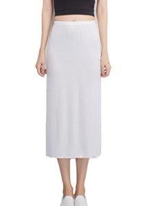 YIJIAOYUN – Jupon – Femme – Blanc – Taille Unique