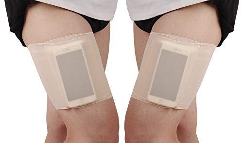 YULOONG Femme Bandes de cuisse poche sexy dentelle anti-frottement travail élastique manchon de compression