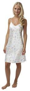 Nuisette satinée Violet/rose/bleu/vert/rouge Tailles 36 à 50 – Blanc – 38