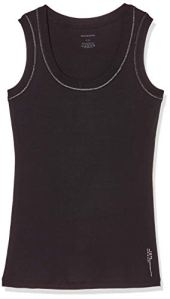Schiesser Tanktop sous-vêtement, Anthracite, 40 Femme