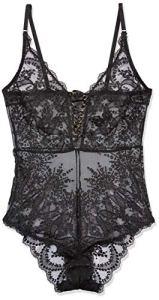 Aubade Sensuelle Body, Noir (Noir Noir), 38 (Taille Fabricant: M) Femme