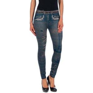 Intimax corsets lencería y moda T2132 Legging Sculptant, Bleu (Bleu), S/M Femme