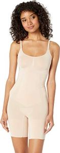 Spanx Ss1715-natural-m, Body Minimiseur Body Femme, Beige (Soft Nude 000), 40/42 (Taille fabricant: 38/40)