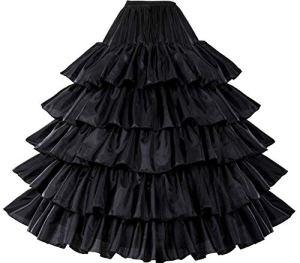 BEAUTELICATE – Jupon – Femme – Noir – L-XL
