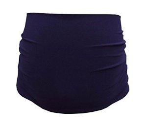Mija – bande de ventre de maternité – 30 couleurs – Bande /ceinture de support 1024 (Bleu marin)