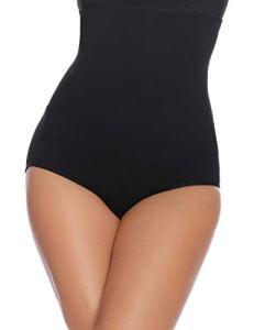 Abollria Gaine Amincissante Femme Invisible Body Gainant Bustiers Minceur Lingerie Sculptante Body Shaper Ventre Plat Combinaisons Sculptantes,Noir2,M/Poids:60-70kg, Tour de taille: 74-80cm
