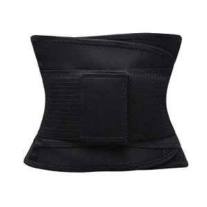 Ceinture d'entraînement pour femme – Ceinture amincissante pour le dos – Ceinture amincissante pour le sport avec double ventre réglable