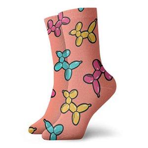 Chaussons chaussettes pour femme Motif animaux de compagnie en corail 30 cm