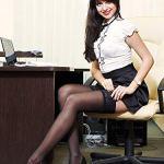 Chengu 4PairesJarretelles en Dentelle Noire pour Femme Cuisse-Haut Bas Résille CollantsBas de Soie (Style A, Noir)