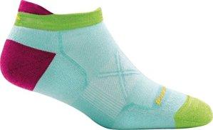 Darn Tough Coolmax Vertex Chaussettes ultra-légères pour femme, Femme, aqua, Large