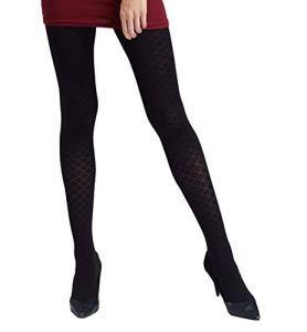 Gatta – Collants – Uni – 80 DEN – Femme Noir Noir L