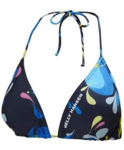 Helly Hansen New Femme Bikini Top, Sling Navy Print, FR : M (Taille Fabricant : M)
