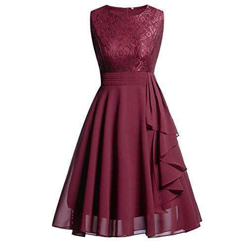 Lauriney 1950 Petticoat Jupon De Crinoline Jupon RockabillyFemme pour Crinoline Robe Fine Mode de Vie Robe en Maille Robe en Maille avec Col Rond (Color : Colour, One Size : One Size)