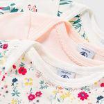 Petit Bateau 5709600 Chemise Femme, Rose + Blanc/Multico + Blanc+Rose/Multico, 6M