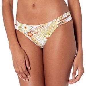 Roxy Bas de bikini classique imprimé pour femme – – Taille M