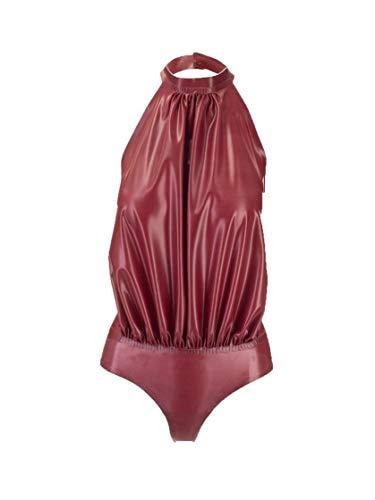 SAINT LAURENT Mode De Luxe Femme 634965Y7B225007 Bordeaux Caoutchouc Body   Automne-Hiver 20
