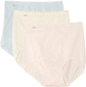 Sloggi – 10007656 – Basic Maxi – Culotte gainante – Lot de 3 – Femme – Rose – FR : 40 (Taille fabricant : 40)